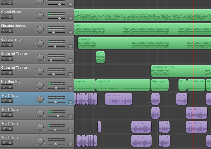Creating a Musical Structure and Demo song in simple programs like Garageband or Logic