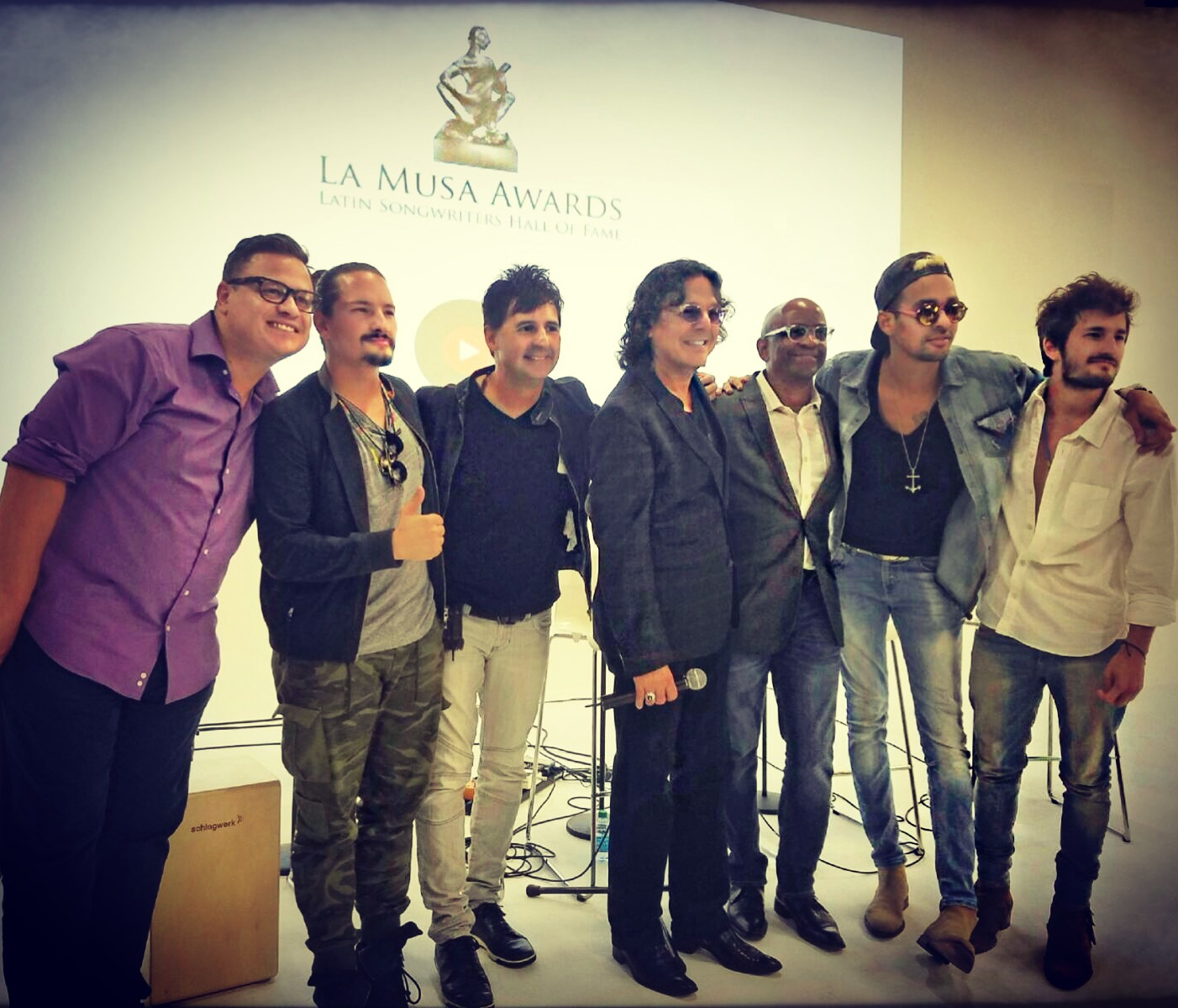 La Musa Awards Master Class: Top Music Producers
